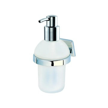 Wall Mounted Soap Dispenser with Frosted Glass