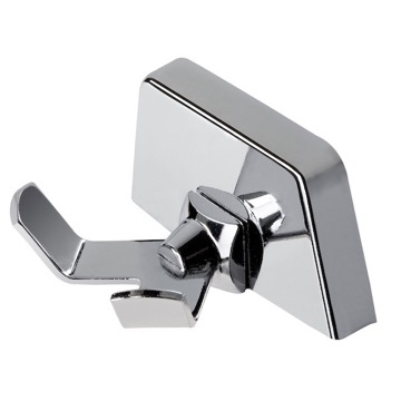 Bathroom Hook Chrome Robe or Towel Double Hook 5254 Geesa 5254