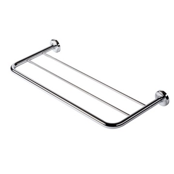 Bathroom Shelf Chrome Towel Rack or Towel Shelf 5353 Geesa 5353