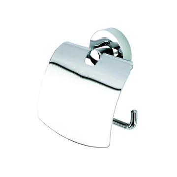 Toilet Paper Holder Polished Chrome Toilet Roll Holder with Cover 5508 Geesa 5508