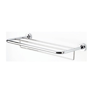 24 Inch Chrome Towel Rack or Towel Shelf with Towel Bar