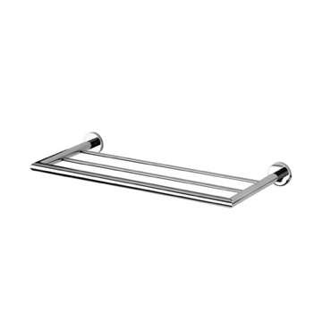 Bathroom Shelf 24 Inch Towel Rack or Towel Shelf 6053-02 Geesa 6053-02