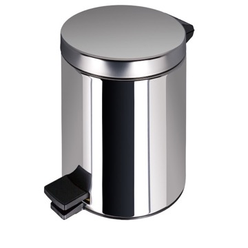 Stainless Steel Bathroom Pedal Waste Bin