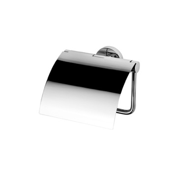 Toilet Paper Holder, Contemporary, Chrome, Brass, Geesa Nemox Collection, Geesa 6508-02