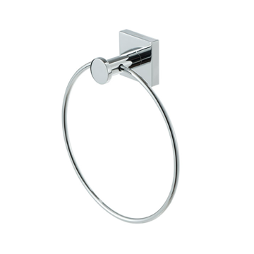 Chrome Brass Towel Ring