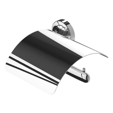 Wall Mounted Chrome Brass Toilet Paper Holder