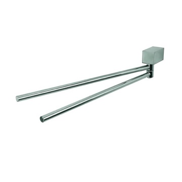 Swivel Towel Bar Satin Nickel Double Swivel Towel Bar 7505-05 Geesa 7505-05