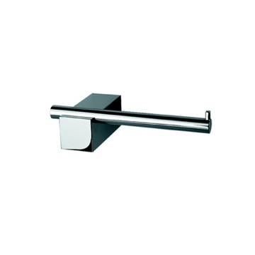 Contemporary Chrome Toilet Roll Holder