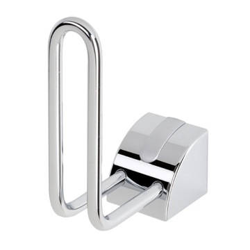 Toilet Paper Holder Chromed Spare Toilet Roll Holder 8012-02 Geesa 8012-2