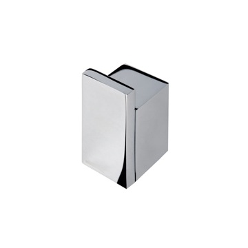 Chrome Contemporary Square Towel or Robe Hook