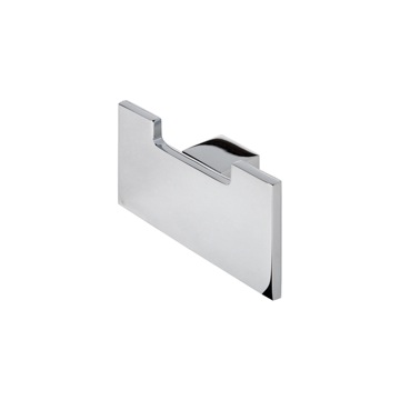 Contemporary Chrome Square Towel or Robe Hook