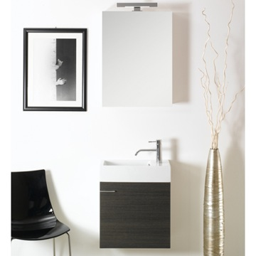 Bathroom Vanity Contemporary Vanity Set with Sink and Medicine Cabinet LA3 Iotti LA3