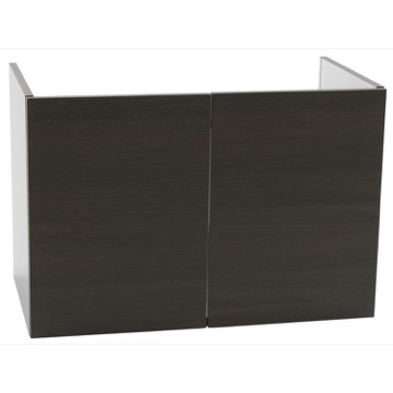 31 Inch Wall Mount Wenge Bathroom Vanity Cabinet