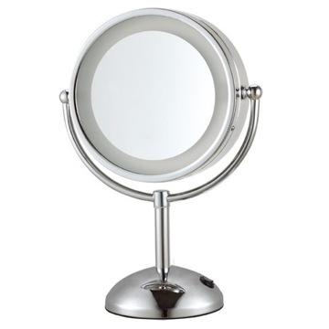 Double Face Round 3x Makeup Mirror