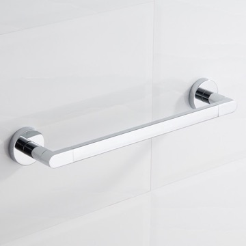 17 Inch Polished Chrome Towel Bar