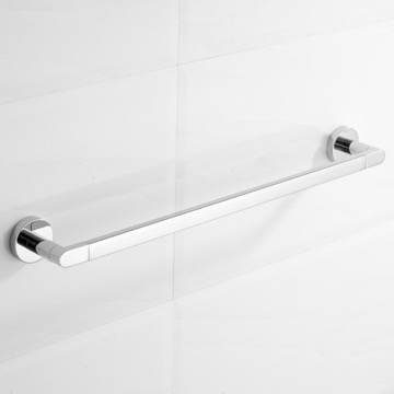 23 Inch Polished Chrome Towel Bar