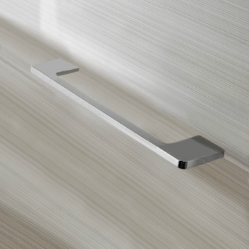 12 Inch Modern Towel Bar in Chrome Finish