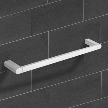 26 Inch Modern Chrome Towel Bar