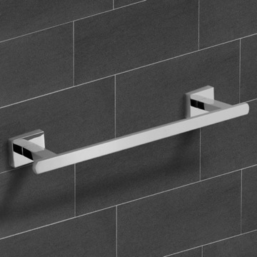 12 Inch Polished Chrome Towel Bar