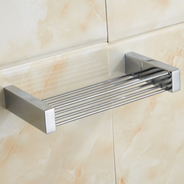 Chrome Brass Rectangular Shower Basket