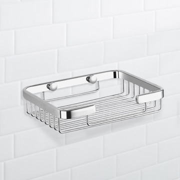 Chrome Wire Shower Basket