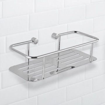 Wall Mounted Chrome Shower Basket