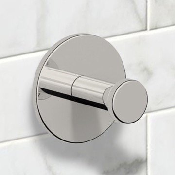 Satin Nickel Bathroom Hook