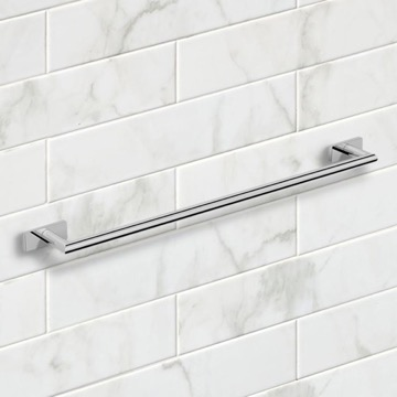 26 Inch Polished Chrome Towel Bar