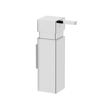 Wall Mounted Polished Chrome Soap Dispenser