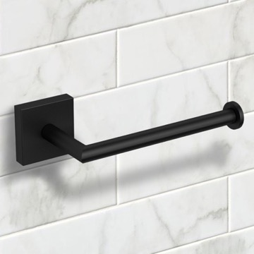 Matte Black Toilet Paper Holder
