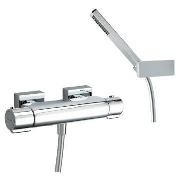 Bath-Shower Mixer Wall Mounted Brass Thermostatic Shower Mixer With Hand Shower Set US-2634K Ramon Soler US-2634K