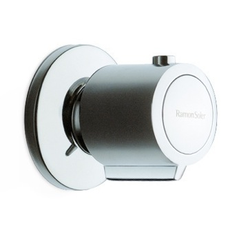 Diverter Deck Mounted 3 Way Diverter Valve in Chrome Finish US-2637 Ramon Soler US-2637