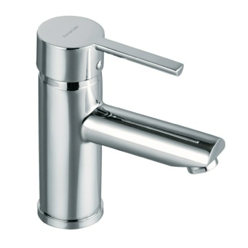 Single Hole Bathroom Faucet with Ecoplus Water Saving System