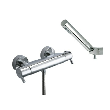 Tub Filler Wall Mount Thermostatic Shower Mixer with Hand Shower Set US-3334D Ramon Soler US-3334D