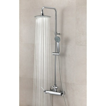 Shower Column Wall Mounted Shower Column with Hand Shower Set and Rainhead US-3358RPN Ramon Soler US-3358RPN