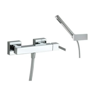 Bath-Shower Mixer Wall Mounted Brass Shower Mixer With Hand Shower Set In Chrome Finish US-4908K Ramon Soler US-4908K