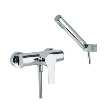 Tub Filler Wall Mounted Shower Mixer with Hand Shower Set US-9308D Ramon Soler US-9308D