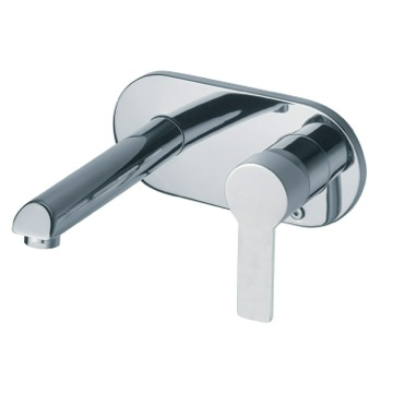 Tub Filler Wall Mounted Single Lever Faucet with Ecoplus Water Saving System US-9320 Ramon Soler US-9320