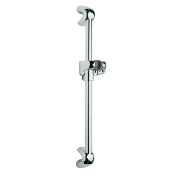 Wall-Mounted Sliding Rail In Chrome Finish