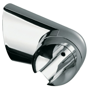 Wall Shower Bracket Made in Polished Chrome