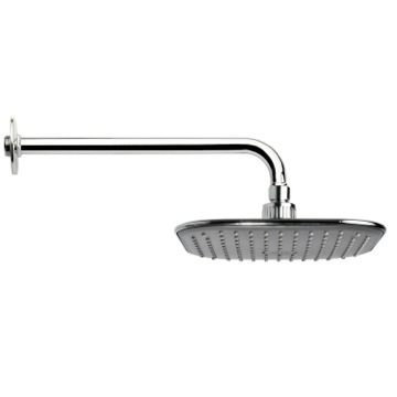 Shower Head, Contemporary, Chrome, Brass, Remer Water Therapy, Remer 343-30-354Ql