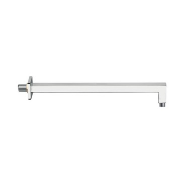 Square 16 Inch Shower Arm in Chrome Finish