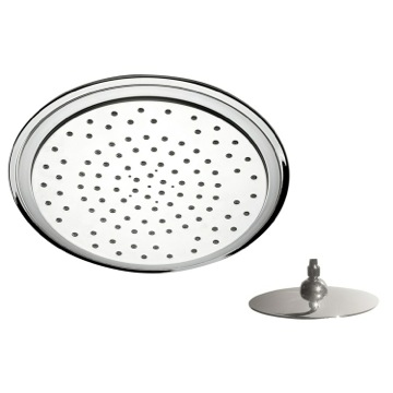 Shower Head, Contemporary, Chrome, Brass, Remer Water Therapy, Remer 356LU