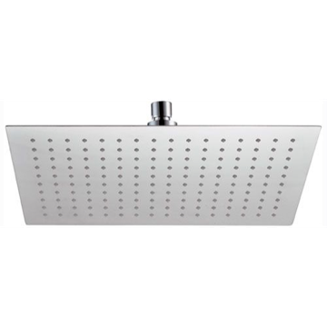 Shower Heads, Contemporary, Chrome, Stainless Steel, Remer Head Showers, Remer 357UFR