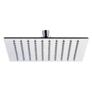 Shower Head, Contemporary, Chrome, Brass, Remer Raniero, Remer 357UFS25