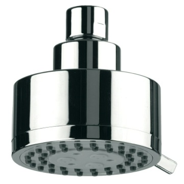 Shower Head, Contemporary, Chrome, Brass, Remer Water Therapy, Remer 358MO