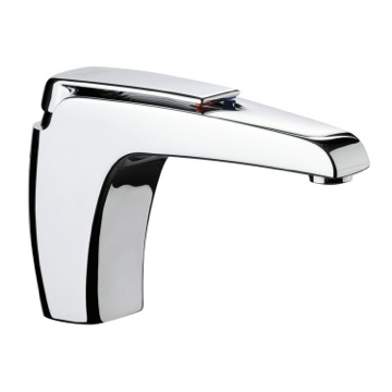 Chromed Brass Basin Mixer with Single Lever