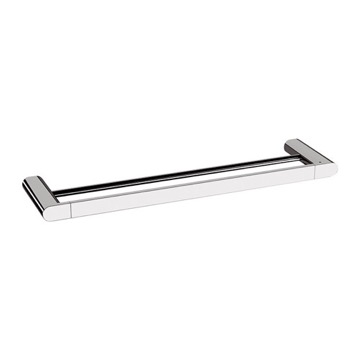 24 Inch Chrome Double Towel Bar