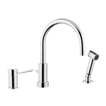 Single-Lever Deck Mounted Sink Mixer In Chrome Finish