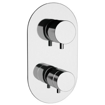 Built-in Thermostatic 3-Way Shower Diverter